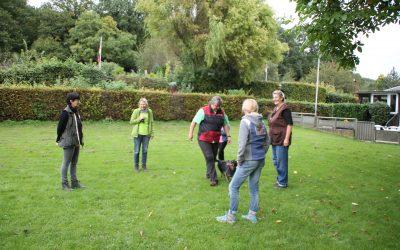 Trainingstag bei der Übungsgruppe