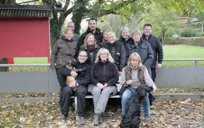 Lehrgang mit Karl-Heinz vom 27.10. bis 29.10.17 bei der Übungsgruppe-Siebengebirge