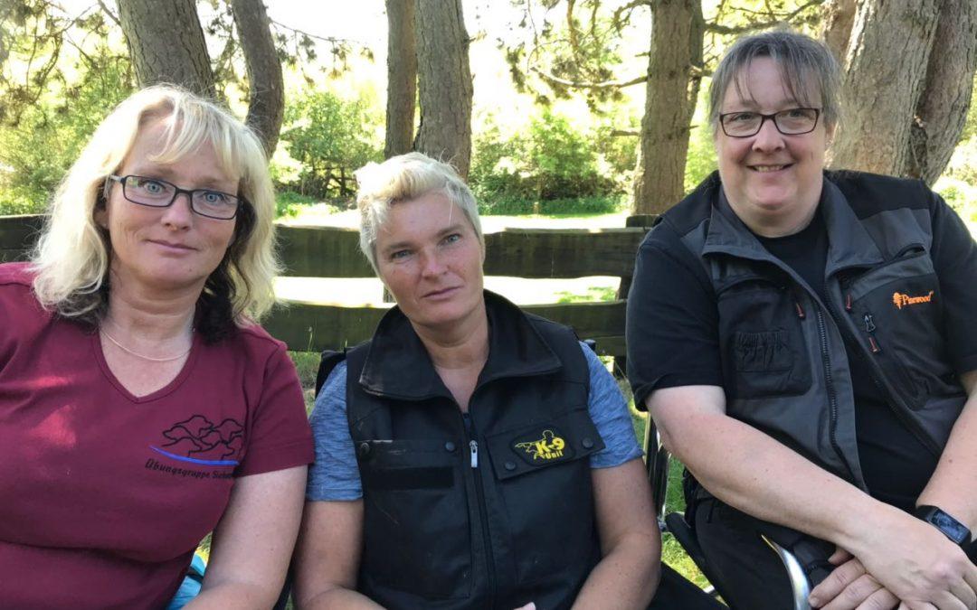 Drei unserer Übungsmitglieder sind in die weite Welt gereist